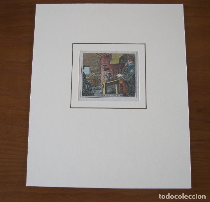 Arte: Fabricantes de cobre, 1830. Anónimo - Foto 2 - 252771820