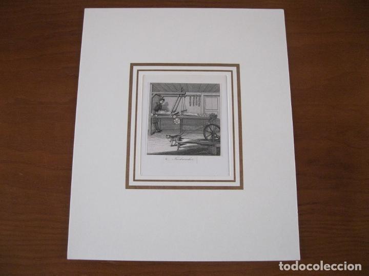 Arte: El trabajador artesano con lana, 1880. Anónimo - Foto 2 - 252771955