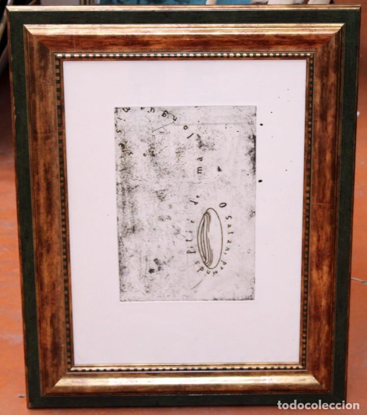 JAUME PLENSA (1922-1998) SUITE BAUDELAIRE II. GRABADO ORIGINAL CON TIRAJE 4/35 (Arte - Grabados - Contemporáneos siglo XX)