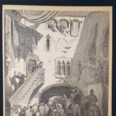 Arte: LITOGRAFIA DE DON QUIJOTE DE LA MANCHA PLANCHA 70 CAP XVIII DIBUJOS GUSTAVE DORÉ GRABADOS H. PISAN. Lote 253192350
