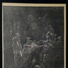 Arte: LITOGRAFIA DE DON QUIJOTE DE LA MANCHA PLANCHA 80 CAP XXIII DIBUJOS GUSTAVE DORÉ GRABADOS H. PISAN. Lote 253193365