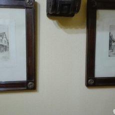 Arte: PAREJA DE GRABADOS ANTIGUOS. Lote 253311995