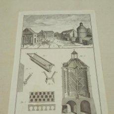 Arte: ECONOMIA RUSTICA - GRABADO ORIGINAL S.XVIII - DIDEROT Y D'ALEMBERT. Lote 253739120