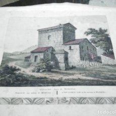 Arte: GRABADO SEPULCRO CERCA DE MANRESA. BARCELONA. REVILLE AQUA FORTI 1805 / S. 19 [ 56 X 40 CM ]. Lote 31104493