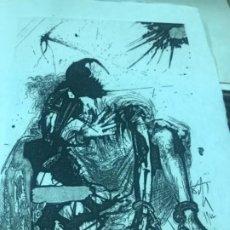 Arte: GRAVADO DEL LIBRO LA VIDA ES SUEÑO ( SUITE) SALVADOR DALI. Lote 254317160