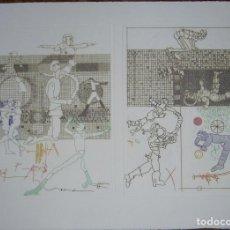 Arte: GRABADO ORIGINAL DE ANTONIO LORENZO. Lote 254409530
