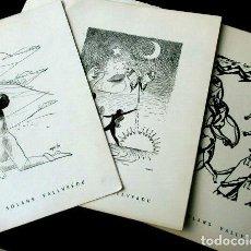 Arte: PINZELLS I BALADES - JOAN SOLANS VALLVERDU - POESIA CATALANA ILUSTRADA CON GRABADOS (RARO) POEMES. Lote 254416930