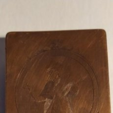 Arte: PLANCHA DE COBRE GRABADO SAN ELOY PATRÓN DE JOYEROS Y ORFEBRES DE MANUEL ESQUIVEL MADRID SIGLO XVIII. Lote 255001100