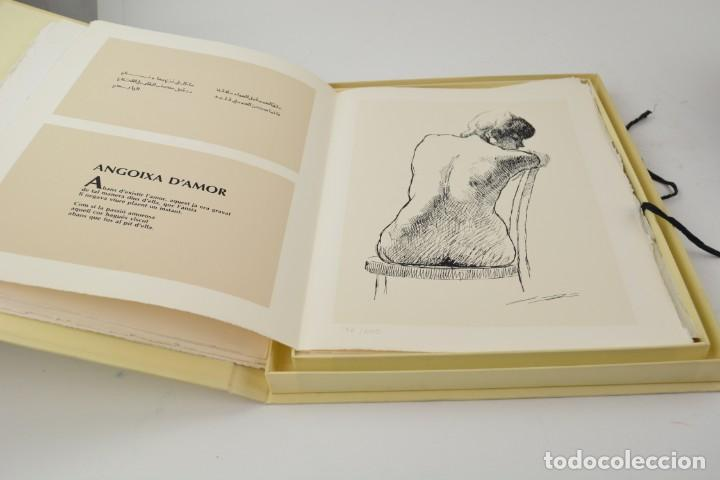 Arte: Carpeta Noviluni, lligams Lleida y València, 1989, edición conmemorativa con grabados originales. - Foto 4 - 255971140