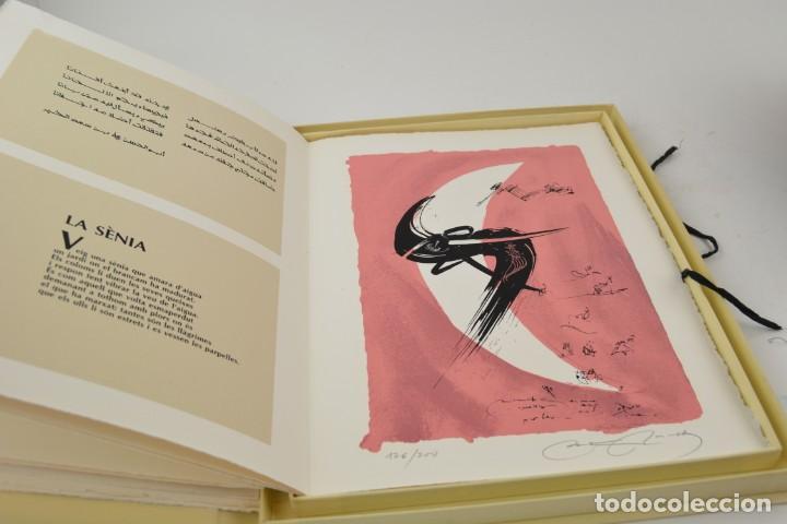 Arte: Carpeta Noviluni, lligams Lleida y València, 1989, edición conmemorativa con grabados originales. - Foto 6 - 255971140