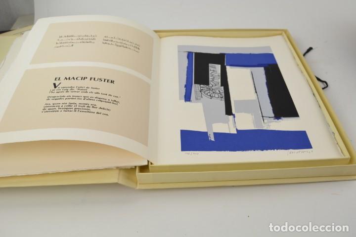 Arte: Carpeta Noviluni, lligams Lleida y València, 1989, edición conmemorativa con grabados originales. - Foto 7 - 255971140