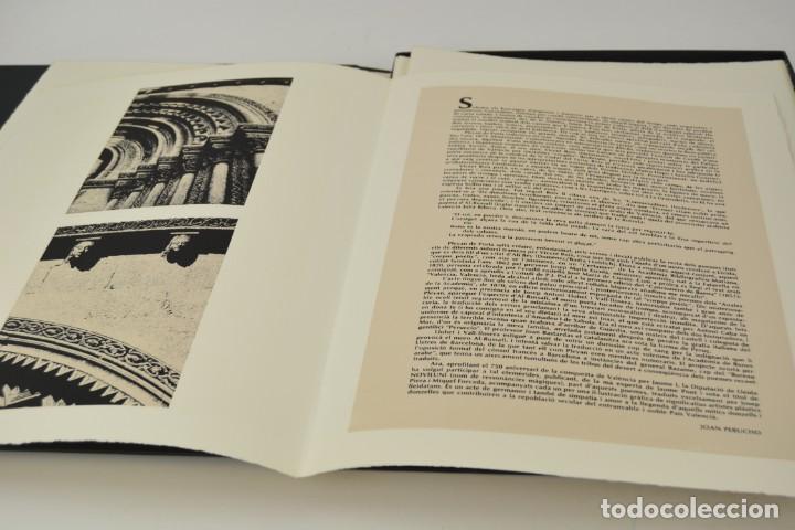Arte: Carpeta Noviluni, lligams Lleida y València, 1989, edición conmemorativa con grabados originales. - Foto 3 - 255971460