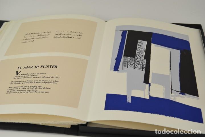 Arte: Carpeta Noviluni, lligams Lleida y València, 1989, edición conmemorativa con grabados originales. - Foto 5 - 255971460