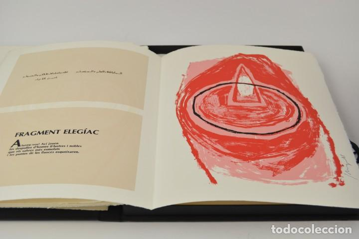 Arte: Carpeta Noviluni, lligams Lleida y València, 1989, edición conmemorativa con grabados originales. - Foto 6 - 255971460