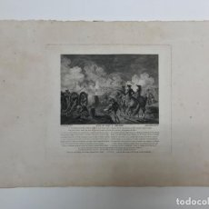 Arte: GRABADO ANTIGUO SIGLO XVIII FORT SAINT PHILIPPE MENORCA BALEARES 1785 - GODEFROY. Lote 256152010