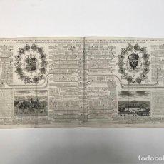 Arte: GRABADO ANTIGUO CASA DE LOS AUSTRIAS EN ESPAÑA - CHATELAIN. Lote 256152015