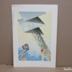 Arte: EMILIO FARINA (ITALIA, SIGLO XX) GRABADO GOFRADO Y FECHADO DEL AÑO 1983. Lote 256157610