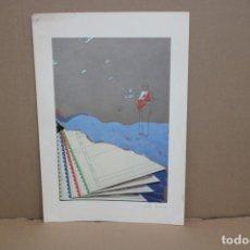 Arte: EMILIO FARINA (ITALIA, SIGLO XX) GRABADO GOFRADO Y FECHADO DEL AÑO 1983. Lote 256157820