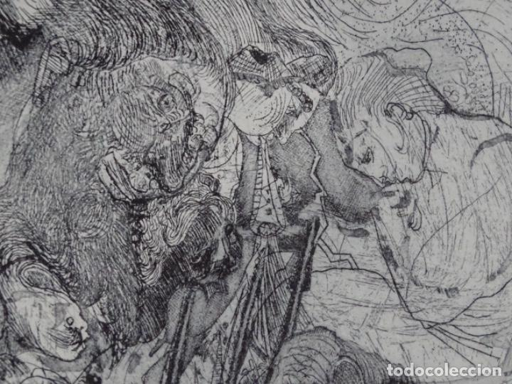 Arte: GRABADO ILEGIBLE. DEDICADO A LUIS VALLS. 1/50. AÑO 1988. - Foto 3 - 257353795