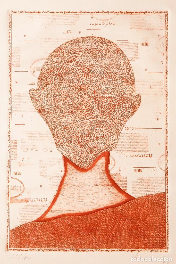 DANIEL ARGIMON - AGUAFUERTE - 35/100 (Arte - Grabados - Contemporáneos siglo XX)