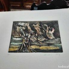 Arte: BONIFACIO ALFONSO GÓMEZ FERÁNDEZ - GRABADO ORIGINAL FIRMADO. Lote 257445915