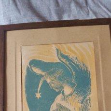 Arte: JOAN COMMELARAN . ANGEL CON ESTRELLA. Lote 257669145