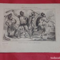Arte: ANTIGUO GRABADO. SOLDADOS ROMANOS DEL TIEMPO DE LA REPUBLICA. DEMORAINE, DANOIS.. Lote 257944095