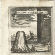 Arte: GRABADO DE LAS HONRAS QUE SE HICIERON A SU CATÓLICA MAJESTAD DE FELIPE IV MADRID AÑO 1666 S. XVII. Lote 258019530
