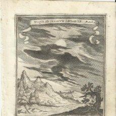 Arte: GRABADO DE LAS HONRAS QUE SE HICIERON A SU CATÓLICA MAJESTAD DE FELIPE IV MADRID AÑO 1666 S. XVII. Lote 258020070