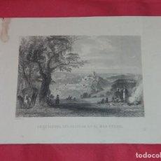 Arte: ANTIGUO GRABADO. EMBOCADURA DEL BOSFORO EN EL MAR NEGRO. OUTHWAITE.. Lote 258078135