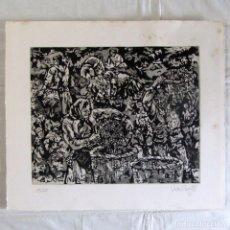 Arte: GRABADO LA VENDIMIA, JOSÉ VELA ZANETTI, JAIME GIL GRABADOR. Lote 258150580