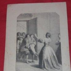 Arte: ANTIGUO GRABADO. MADAMA DI SÉVIGNÉ. F. G. D.E.L.. Lote 258254365