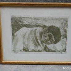 Arte: DIMITRI (PAPAGUEORGUIU, DIMITRI): 'SIN TÍTULO', GRABADO - LITOGAFÍA NUMERADO 14/25 - ENMARCADO. Lote 260266385