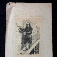 Arte: MURILLO. HISTORIA DE LA PINTURA. GRABADO DE VICENTE URRABIETA. [HACIA 1850-60]. Lote 260270605