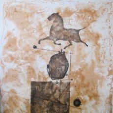 Arte: MODEST CUIXART. GRABADO. FIRMADO Y NUMERADO 20 DE UNA EDICIÓN DE 99 EJEMPLARES. Lote 260571305