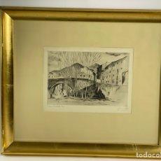 Arte: GRABADO, FIRMADO, PROVA NUMERADA 3/10. S.XX.. Lote 260638280
