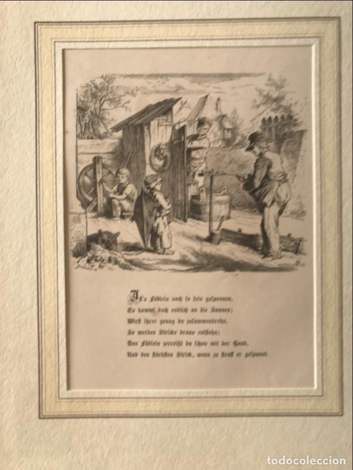 Arte: Hombres trabajando y niño mirando, hacia 1862. - Foto 3 - 260728805