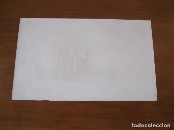 Arte: Vista de las ruinas del Templo de Antinoe (Antinoopolis), Egipto, ca.1850. Lemaitre - Foto 3 - 260750450