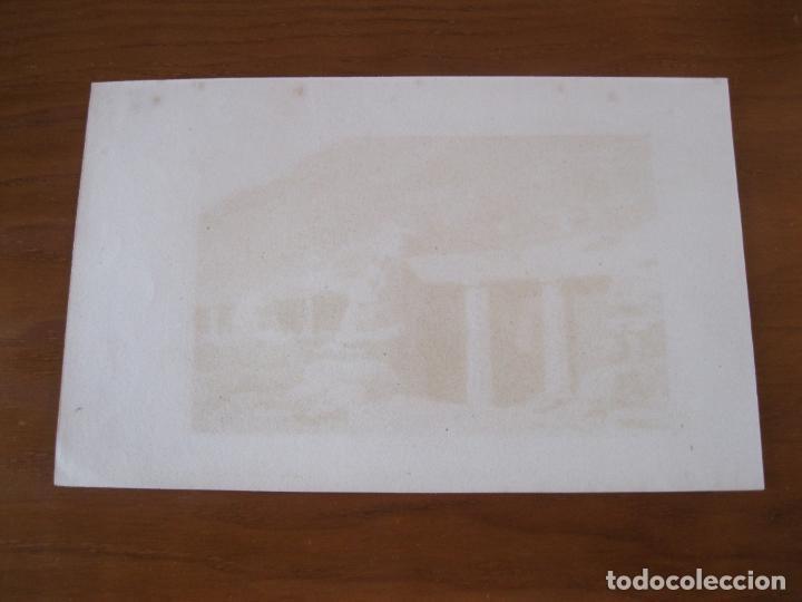 Arte: Tumba dórica de Beni-Hassan (Egipto), circa 1850. Cherubini/Cholet - Foto 3 - 260750740