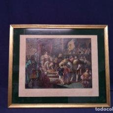 Arte: GRABADO ANTIGUO CARLOS V. Lote 260765235