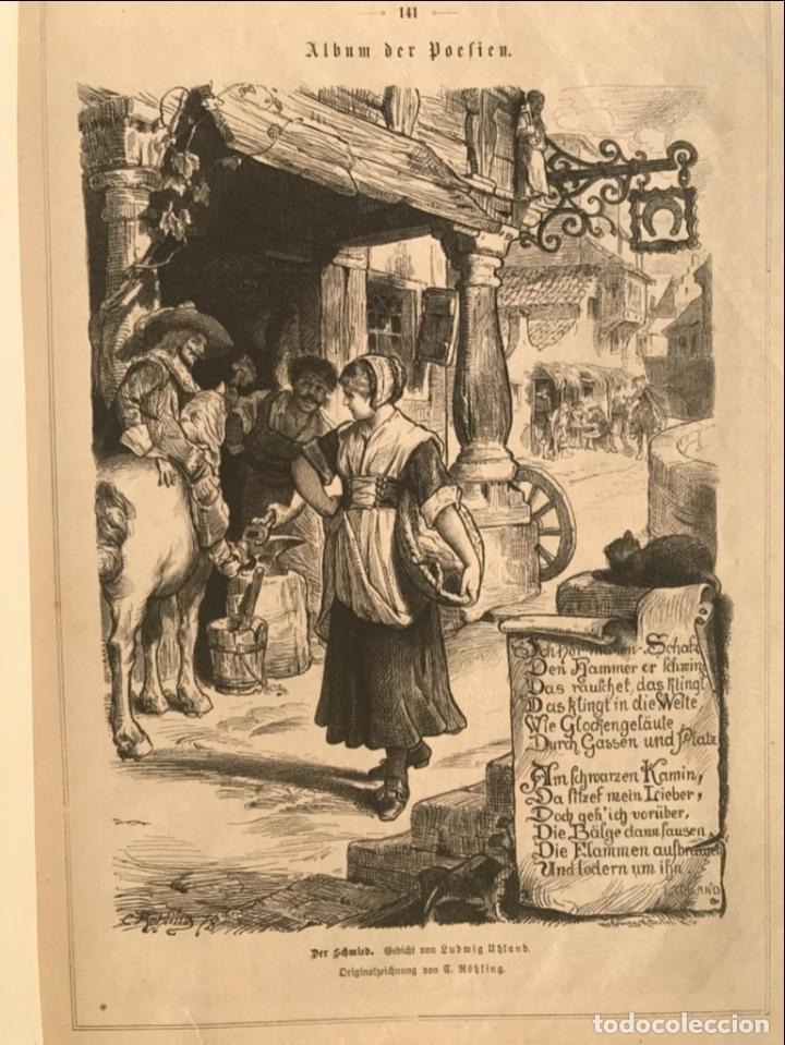 Arte: Herrero, jinete y doncella, 1880 - Foto 4 - 260814145