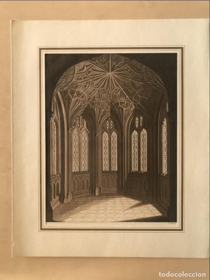 Arte: Vidrieras y bóveda decorada, hacia 1825. V. Raineri - Foto 2 - 260817050
