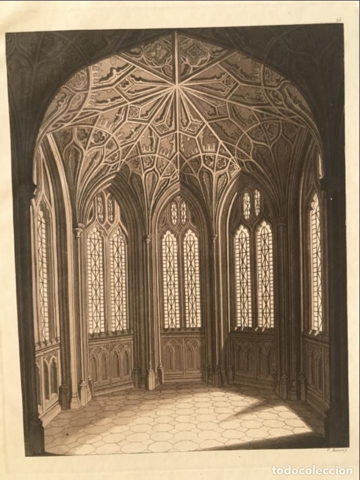 Arte: Vidrieras y bóveda decorada, hacia 1825. V. Raineri - Foto 4 - 260817050