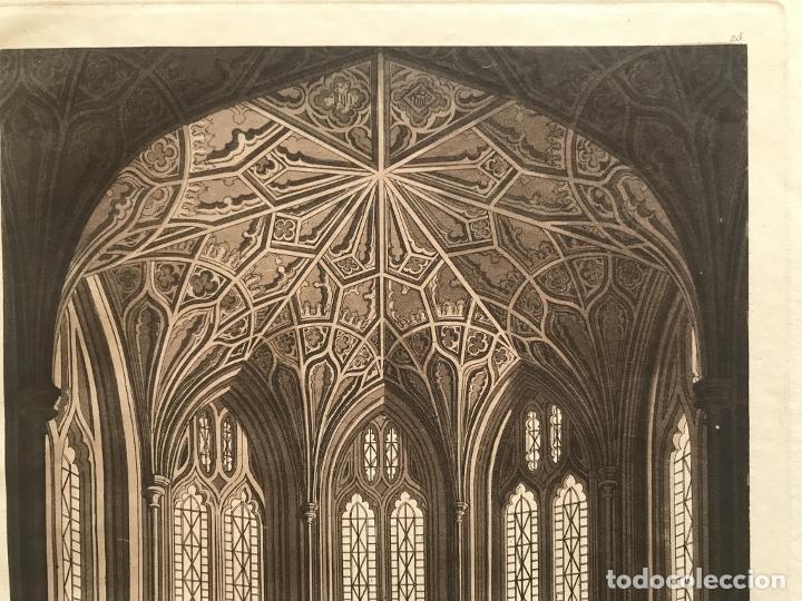Arte: Vidrieras y bóveda decorada, hacia 1825. V. Raineri - Foto 5 - 260817050