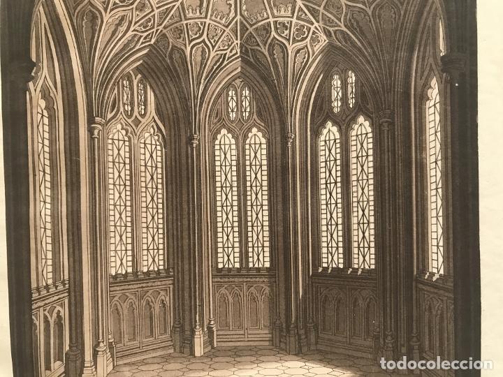 Arte: Vidrieras y bóveda decorada, hacia 1825. V. Raineri - Foto 6 - 260817050