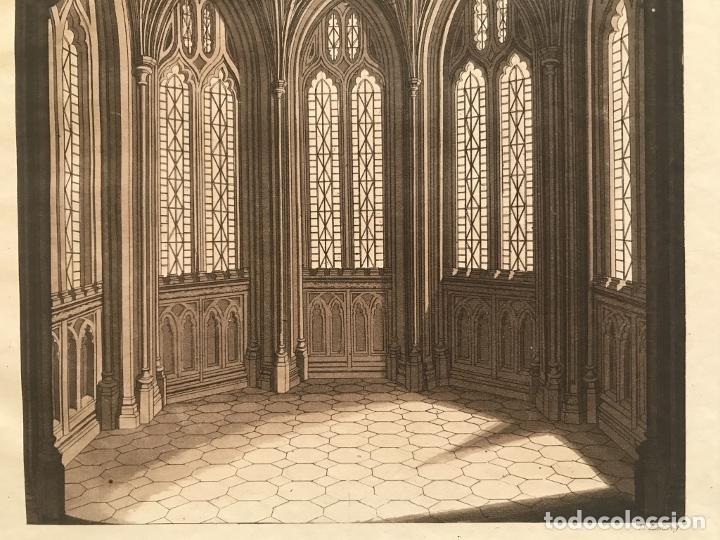 Arte: Vidrieras y bóveda decorada, hacia 1825. V. Raineri - Foto 7 - 260817050