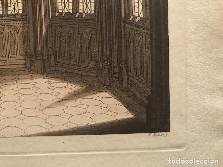 Arte: Vidrieras y bóveda decorada, hacia 1825. V. Raineri - Foto 8 - 260817050