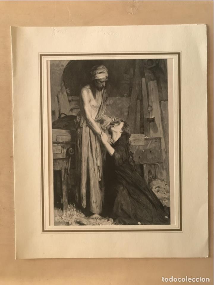 Arte: Jesucristo y María Magdalena, 1890. R. Bonc - Foto 2 - 260820255