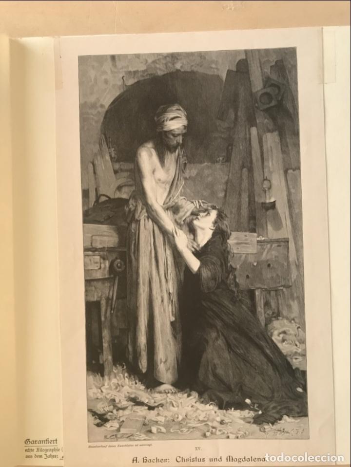 Arte: Jesucristo y María Magdalena, 1890. R. Bonc - Foto 3 - 260820255