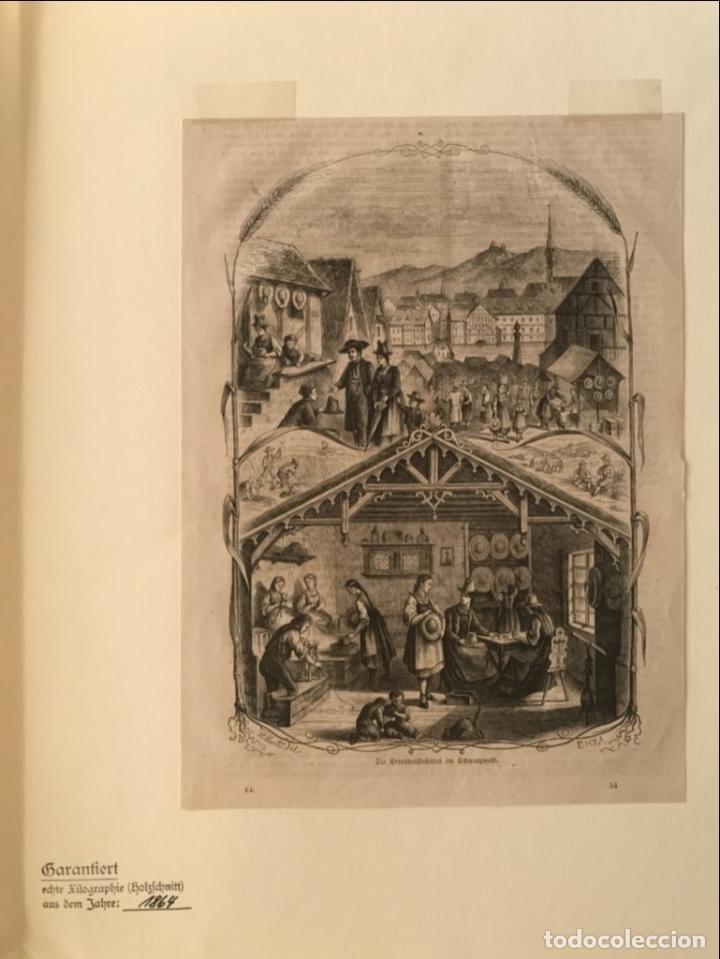Arte: Escenas de pueblo y campo, 1864. Yellerte/E.H.X.A - Foto 3 - 260822630